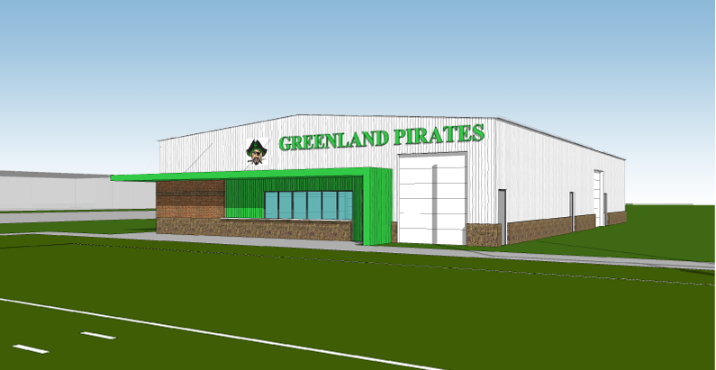 Greenland Schools Field House, Stadium and Ticketing Booth